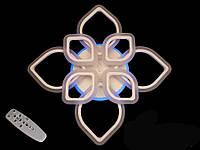 Потолочная LED-люстра с диммером и подсветкой, 115W, фото 1