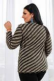 Женский мягкий ,пушистый женский джемпер 42-56р.(5 расцв), фото 8