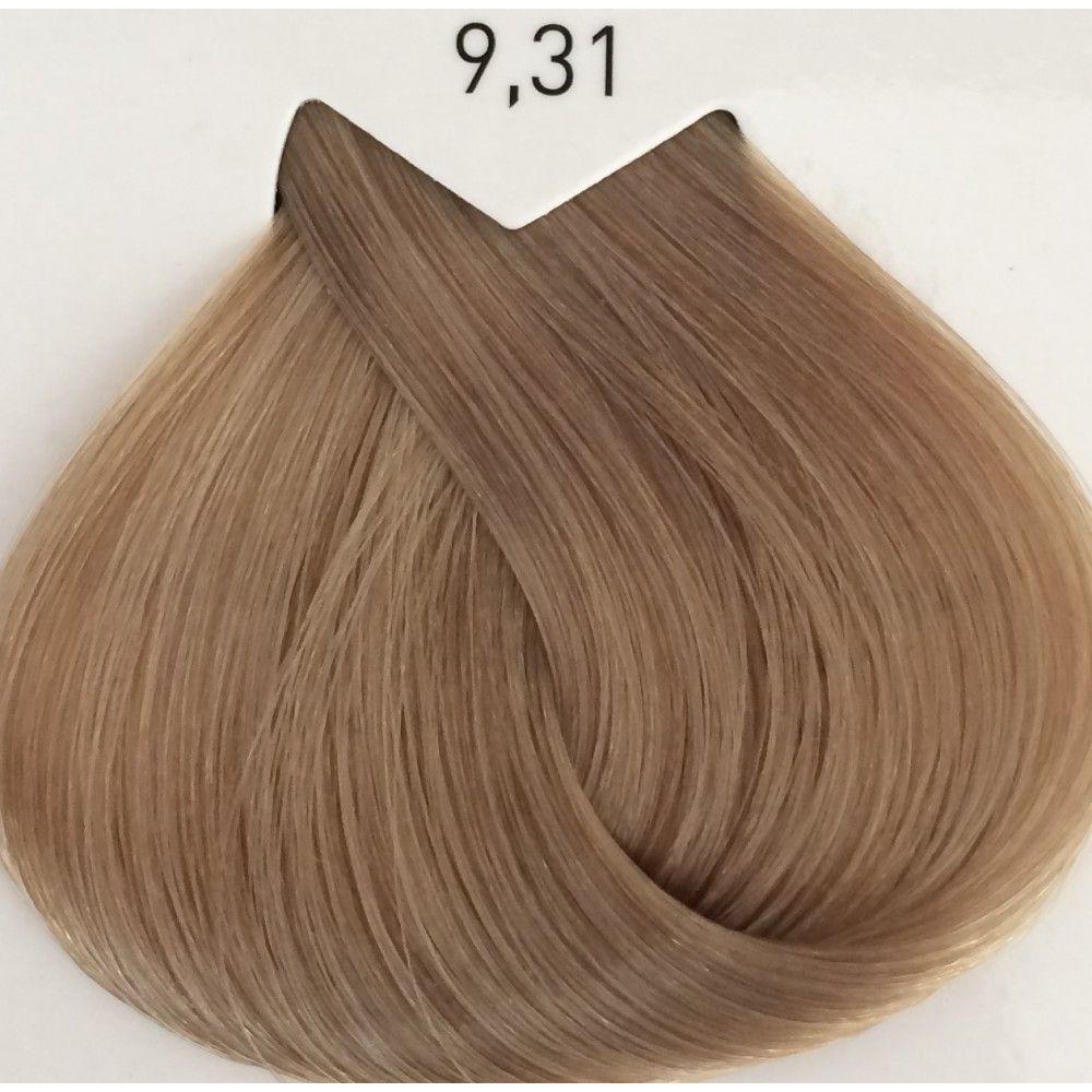 Крем-краска для красоты волос 50 мл-L'Oreal Professionnel Majirel 9,31 очень светлый блондин золотисто-пепельн
