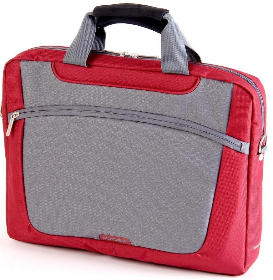 Сумка для ноутбука Sumdex PON-318RD, 16 дюймов,  тканевая