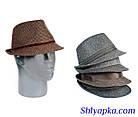 Шляпа мужская коричневая, фото 2