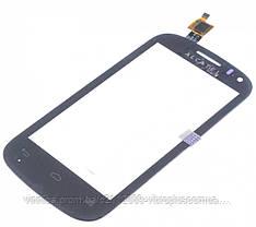 Тачскрин (сенсор) Alcatel 4033, One Touch Pop C3 4033D Dual Sim, black (чёрный), фото 3