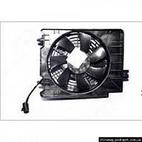 Вентилятор радиатора A/C Geely MK, 1018002718 Лицензия