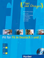 Fit fur Fit in Deutsch 1 + 2, Buch+CD
