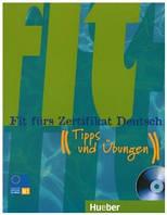 Fit furs Zertifikat Deutsch, LB m. integ. CD
