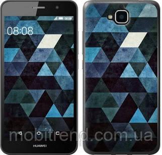 Чехол на Huawei Y6 Pro Треугольники
