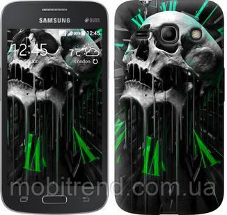 Чехол на Samsung Galaxy Star Advance G350E Череп-часы