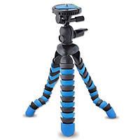 Гибкий штатив (трипод) Alitek Осьминог для телефона, GoPro, камеры, Black-blue