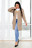 Красивый женский кардиган с карманами (46-56р.), фото 4