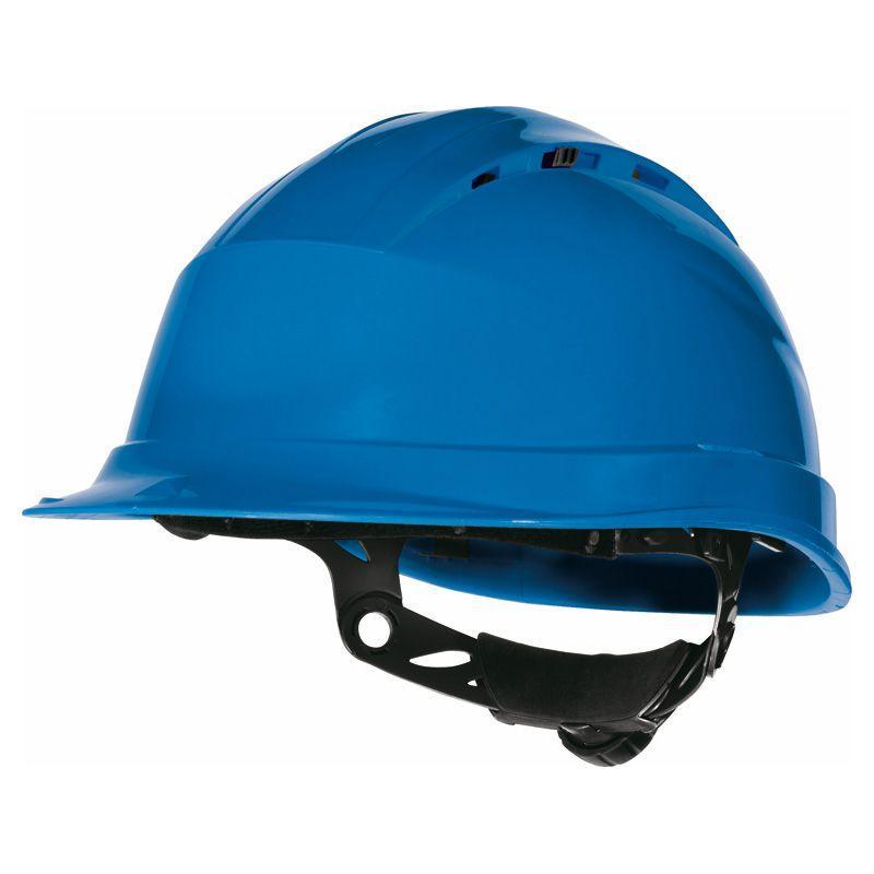 Каска защитная  Delta QUARTZ UP IV синяя