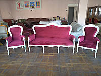 Диван и два кресла Schabby Schick 3-1-1 мягкая мебель