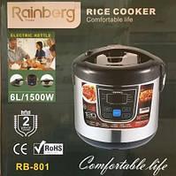 Мультиварка Rainberg RB-801 (12 программ, 6 литра,1500 Вт)