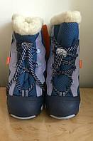 Сапоги для мальчика  DEMAR/SNOWMAR синие 26-27