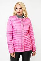 Шикарная женская демисезонная куртка в 4х цветах Ml-100/1 размеры 48-60