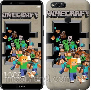 Чехол на Huawei Honor 7X Minecraft 6