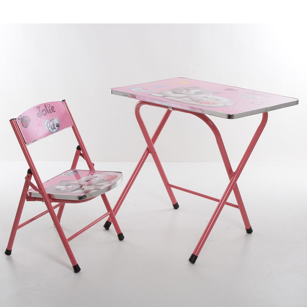 Столик детский складной со стульчиком A19-CT Гарантия качества Быстрота доставки