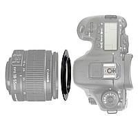 Реверсное макро кольцо Alitek Canon EOS – 67 мм, фото 1