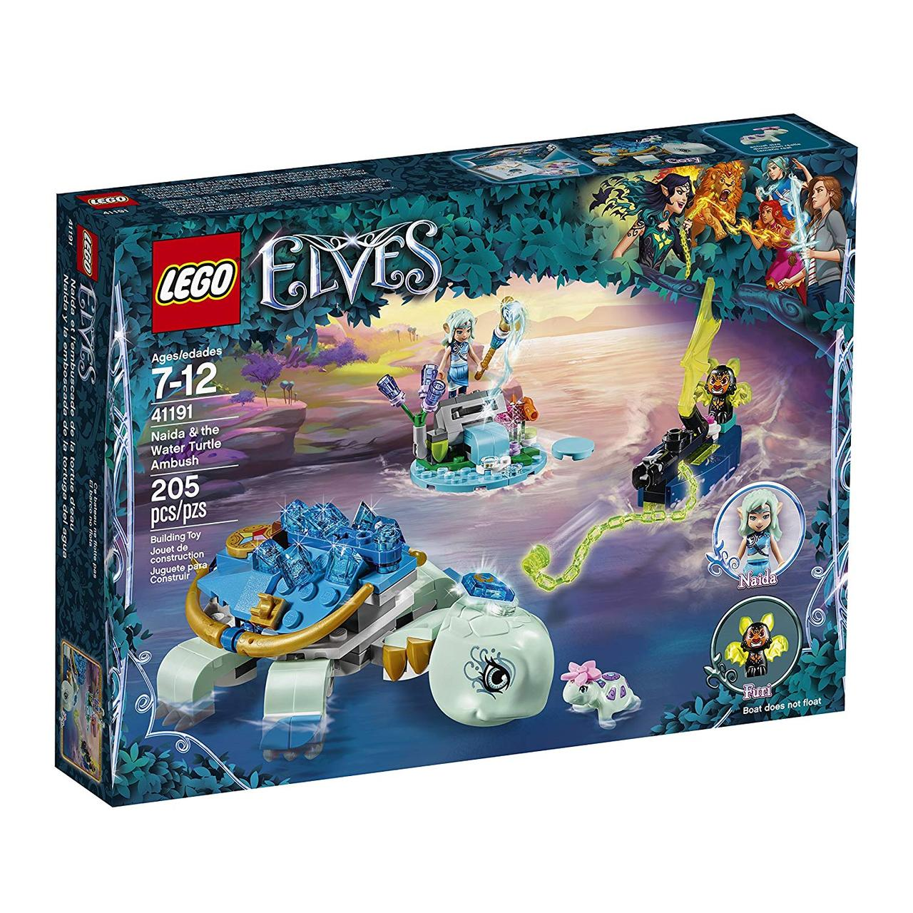 Lego Elves 41191 Засада Наїди та водяної черепахи (Конструктор Лего Элвес Засада Наиды и водяной черепахи)