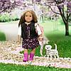 Лялька Дпа c собачкою Далматинець LORI 15 см (LO31058Z)