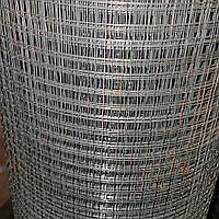 Сетка сварная , черная (штукатурная) , 12х12мм., диаметр 0,7 мм.