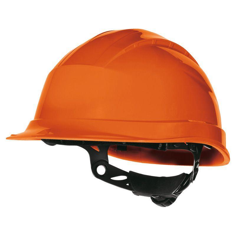 Каска защитная  Delta QUARTZ UP III оранжевый