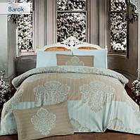 Семейное постельное белье Altinbasak Barok bej Сатин