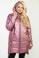 Модная женская демисезонная куртка-плащ в 5ти цветах Ml-101/1 размеры 52-62, фото 1