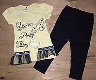 Летний костюм для девочек от 2 до 9 лет, фото 1
