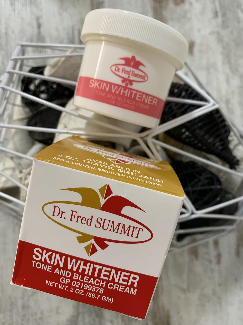Отбеливающий крем от пигментации кожи DR. FRED SUMMIT Skin Whitener