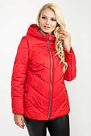 Модная женская демисезонная куртка-трансформер в 3х цветах Ml-108 размеры 52-62, фото 1