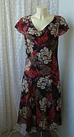 Платье женское легкое элегантное декор бренд Soon р.46