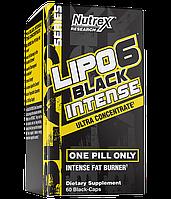 Жиросжигатель Nutrex Research - Lipo 6 Black Intense Ultra Concentrate (60 капсул)