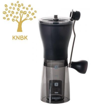 Кофемолка ручная Hario Mini Mill Slim+Plus MSS-1DTB