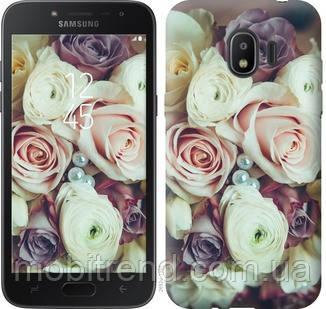 Чехол на Samsung Galaxy J2 2018 Букет роз