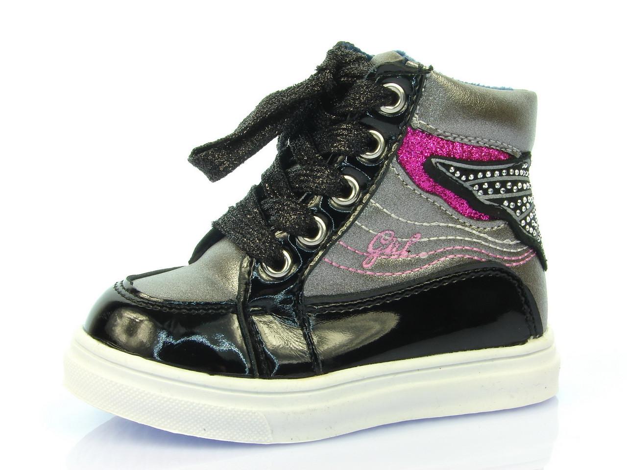 Детские модные ботинки J&G