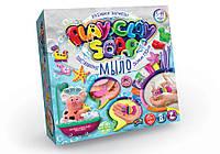 "Пластилиновое мыло  Danko Toys ""Play Clay Soap"" 8 цветов PCS-01-01/02"