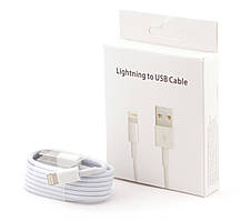Кабель USB Lightning iPhone 5, 5S, 6, 6S, 6+ 1 метр