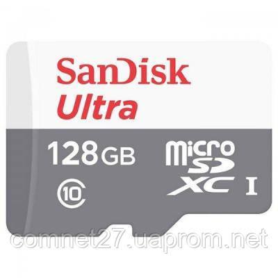 Карта памяти SANDISK 128GB microSDXC class 10 UHS-I Ultra (SDSQUNS-128G-GN6MN)