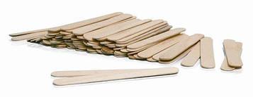 Шпатели деревянные для депиляции 100 шт упаковка