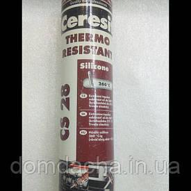 Герметик Ceresit CS 28 до +316 °C красный 280 мл