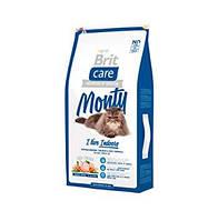 Brit Care  MONTY Indoor 2kg Сухой корм для взрослых кошек не покидающих помещение