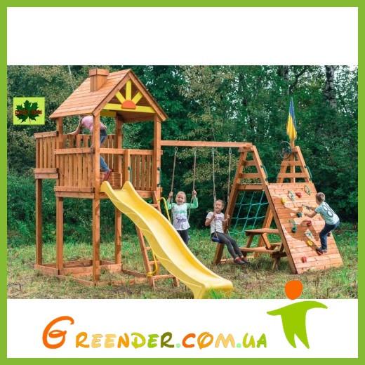 Детские игровые комплексы Высокая башня