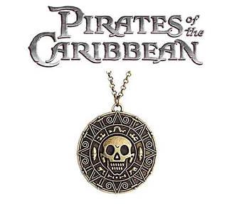 Кулон монета Пираты Карибского моря Pirates of the Caribbean
