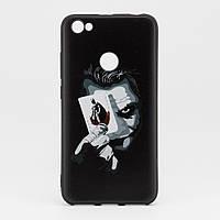 Чехол Print для Xiaomi Redmi Note 5A / Note 5а Pro / 5A Prime 3/32 силиконовый бампер черный с рисунком Joker, фото 1