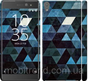 Чехол на Sony Xperia XA Ultra Dual F3212 Треугольники