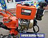 ⭐✅ Мотоблок дизельный ZUBR (Зубр) HT-135 (9 л.с.) ручной стартер с воздушным охлаждением. Отправка по УКРАИНЕ!, фото 2