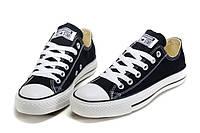 Кеды Converse Black Low низкие черные