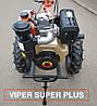 ⭐✅ Мотоблок дизельный ZUBR (Зубр) HT-135 (9 л.с.) ручной стартер с воздушным охлаждением. Отправка по УКРАИНЕ!, фото 8