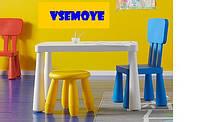 ИКЕА IKEA детский стол и стул,дитячий стiл i стiлець