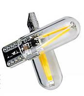 Светодиодные Led лампочки T10 W5W безцокольные 12V-24V легковые и грузовые авто в габариты ЛЕД